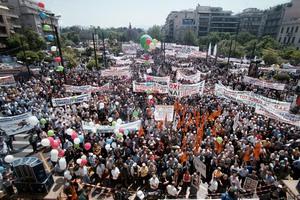 Χαμός και πάλι αύριο στο κέντρο της Αθήνας