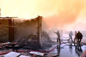 Μάχη με τις φλόγες για δεύτερη μέρα στη Δράμα