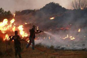 Κάηκαν τρία σπίτια στο χωριό Αετός