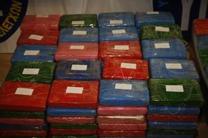 Μισό τόνο κοκαΐνης εντόπισαν οι Αρχές στη Ρόδο