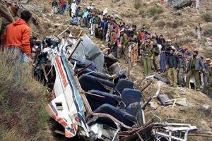 Τροχαίο δυστύχημα στην Ινδία