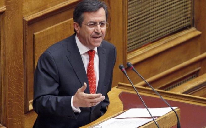 Νικολόπουλος: Συμφωνώ με τον Μίκη για τη διενέργεια δημοψηφίσματος