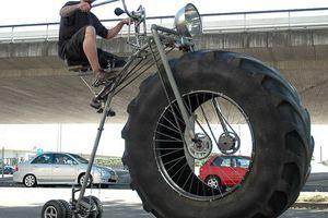 Ποδήλατο-τέρας!