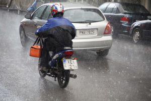 Ισχυρές βροχές στην Αττική