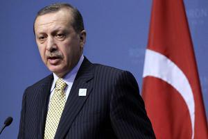 Ο Ερντογάν εμψύχωσε τους παίκτες της Τουρκίας