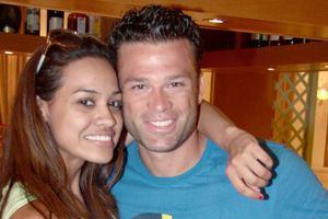 Ο Σόμμερ με τη Ζενίλντα σε αγώνες beach-soccer