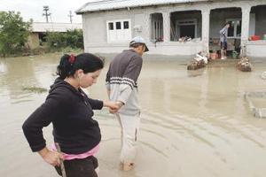 Βοήθεια στους πληγέντες της Ρουμανίας