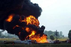 Έκρηξη σε πετρελαιαγωγό με σοβαρές ζημιές