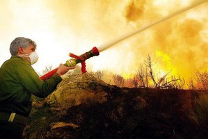 Καλύτερα η φωτιά στη Σαλαμίνα