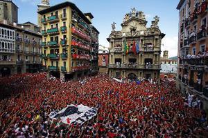 Ξεκίνησε το φεστιβάλ «Σαν Φερμίν» στην Παμπλόνα