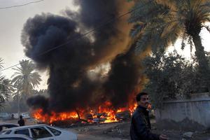 Έκρηξη βόμβας σε κηδεία
