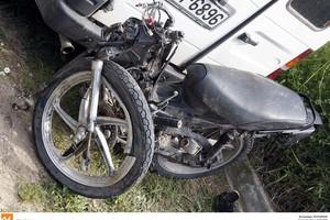 Νεκρός μοτοσικλετιστής σε τροχαίο δυστύχημα έξω από τη Θεσσαλονίκη