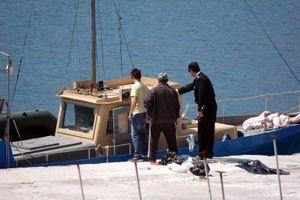 Ακυβέρνητο σκάφος στους Λειψούς