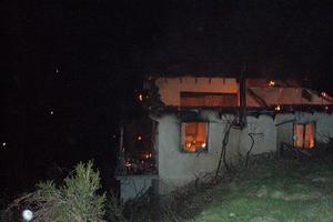 Παρανάλωμα του πυρός σπίτι στην Παλλήνη