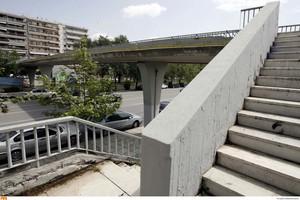 Νέα πεζογέφυρα στο Μαρούσι