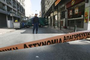 Νεκρός ο αλλοδαπός που βρέθηκε πυροβολημένος στο κέντρο της Αθήνας