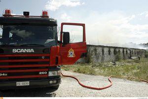 Σε ύφεση η φωτιά στο Αλιβέρι