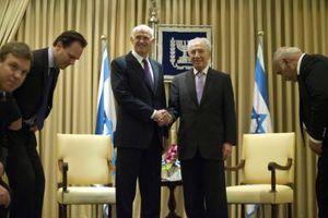 Ο Γ. Παπανδρέου στο Ισραήλ