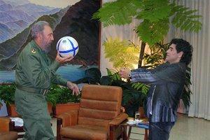 Ο «Θεός της μπάλας» αγαπάει Φιντέλ