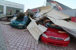 Μεγάλη καταστροφή στα Τρίκαλα