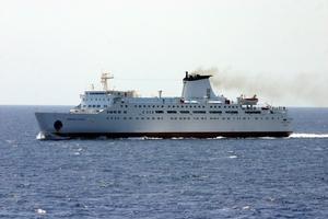 Μηχανική βλάβη στο πλοίο «Εuropean Express»