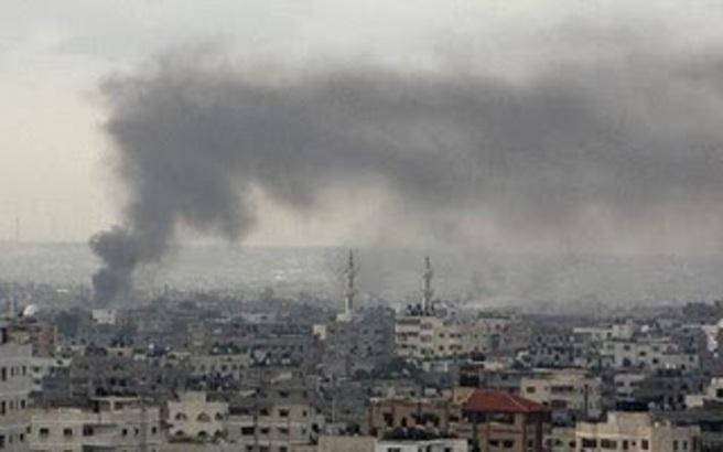 Ισραηλινό χτύπημα σε θέσεις της Χαμάς στη Γάζα