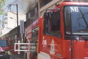 Πυρκαγιά σε κατάστημα αθλητικών ειδών