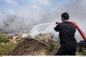 Υπό έλεγχο η πυρκαγιά στην Ιεράπετρα στην Κρήτη