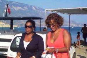 Η Oprah Winfrey στην Κεφαλονιά