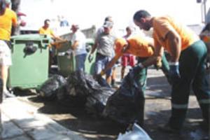 Σκουπίδια στο αεροδρόμιο Ρόδου