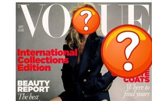 Ποιο μοντέλο ποζάρει για το σημαντικότερο τεύχος του περιοδικού «Vogue»;
