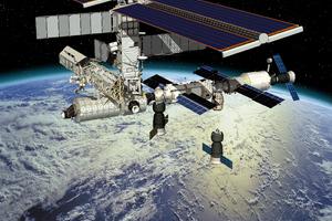 Τροχιακές διορθώσεις στο Διεθνή Διαστημικό Σταθμό