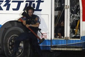 Έληξε η ομηρεία του λεωφορείου στη Μανίλα
