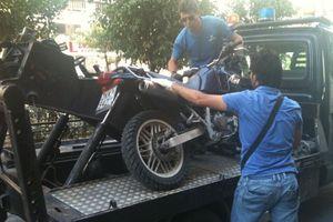 Στην Ασφάλεια η μοτοσικλέτα του ληστή