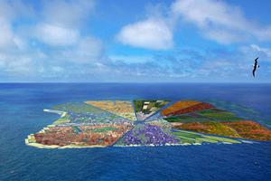 Νησί από... ανακυκλωμένα σκουπίδια