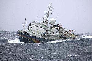 H Greenpeace στην Αρκτική