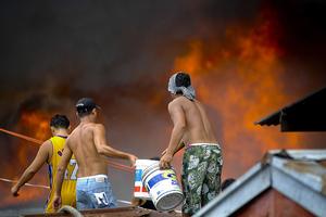 Πυρκαγιά με θύματα στις Φιλιππίνες
