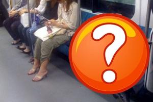 Ύπνος στο μετρό