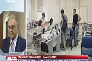 «Κανένα πρόβλημα με τις συντάξεις ως το τέλος του χρόνου», λέει ο διοικητής του ΟΑΕΕ