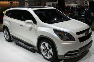 Το νέο οικογενειακό Chevrolet Orlando crossover