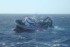 Βύθιση φορτηγού πλοίου στην Κεφαλονιά