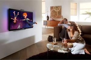 Η μεγαλύτερη 3D τηλεόραση
