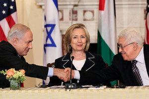 Παρουσία της Χίλαρι Κλίντον οι συνομιλίες Ισραήλ-Παλαιστίνης