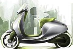 Ηλεκτροκίνητο scooter από τη Mercedes