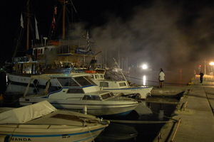 Φωτιά σε σκάφη αναψυχής