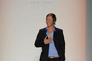 Ο Κωστέτσος στο New York Fashion Week