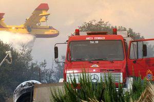 Φωτιά σε χαράδρα στη Λακωνία