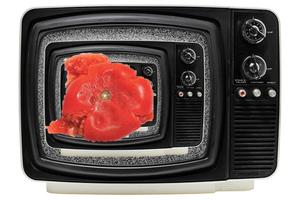 Η τηλεόραση δείχνει την τηλεόραση!