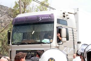 Με δυσκολίες η κυκλοφορία στην Αθηνών-Κορίνθου