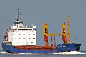 Φορτηγό πλοίο προσάραξε στην Κόρινθο